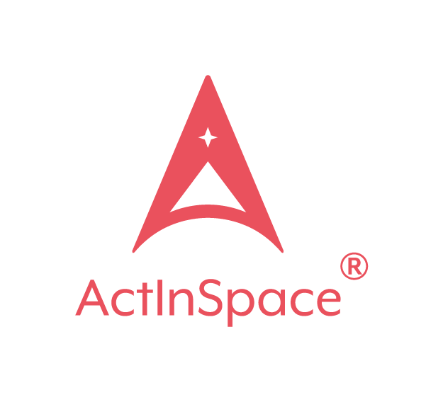 ACT IN SPACE Logo